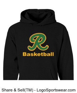 Hooded Sweatshirt PERSONALIZED Design Zoom